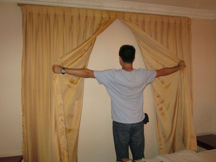 The Curtains Are Just For Show