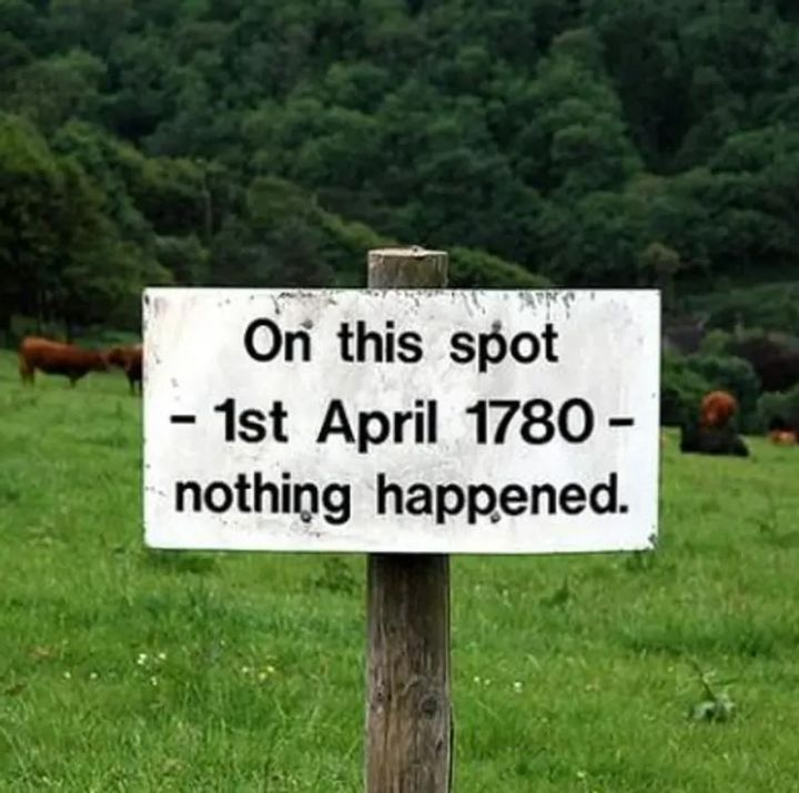 A Memorial of April 1st 1780