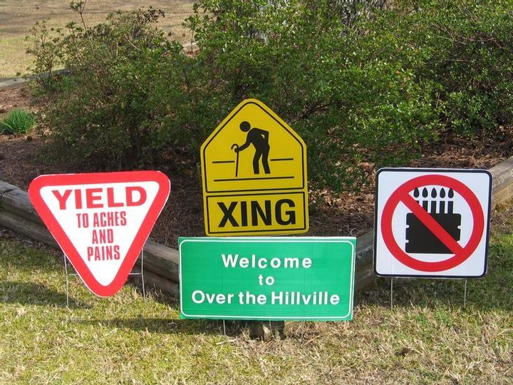 Warning: Approaching Over the Hillville